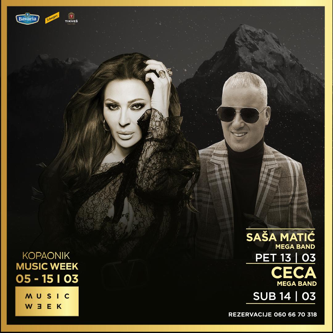 Music Week II - Ceca i Saša Matić