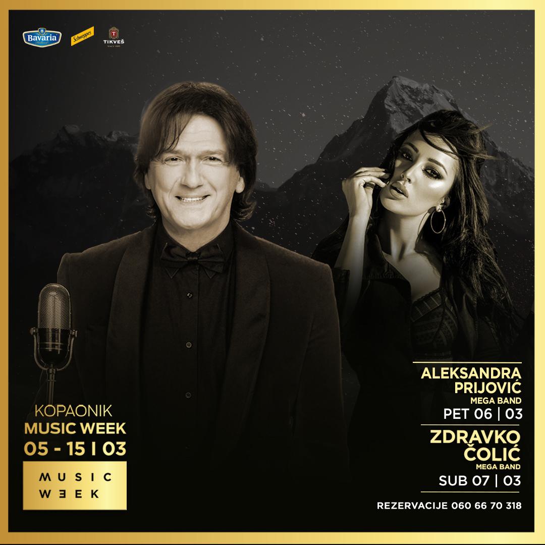 Music Week I - Zdravko Čolić i Aleksandra Prijović